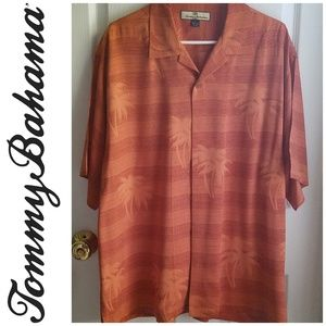 Large Tommy Bahama Silk Hawaiian Shirt